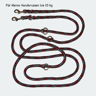 TOP LEINE FÜR KLEINE HUNDERASSEN 4 Varianten 2m 3fach  bis 3m 4fach