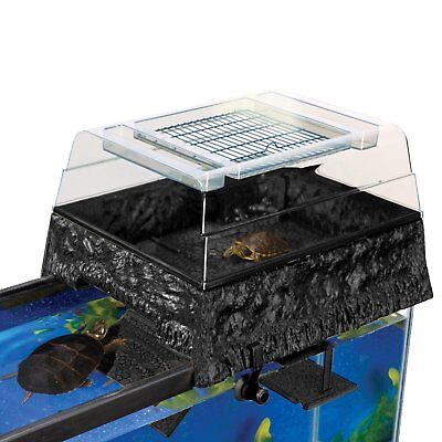 Penn Plax Turtle Tank Topper – Above-Tank Basking Platform for Turtle