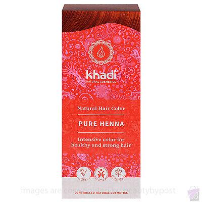 Khadi Herbal Natural Hair Colour Pure Henna Pure Botanical Natural Dye 100g