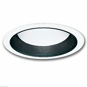 Halo 410B 6 Inch Recessed Lighting Black Coilex Baffle With White Trim EBay