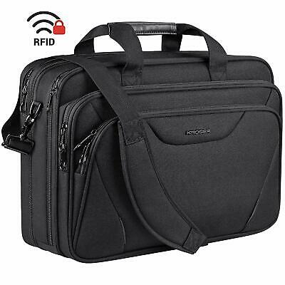 "KROSER 18"" Laptop Bag Premium Laptop Briefcase Fits Up to 17.3 Inch Laptop"