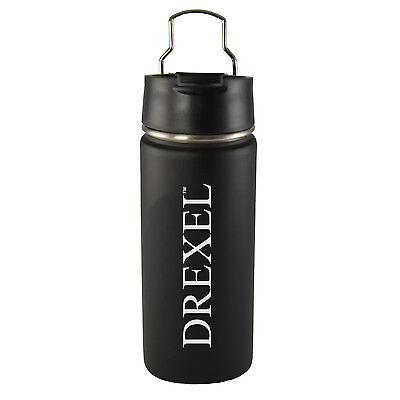 Drexel University  20 Oz  Travel Tumbler Black