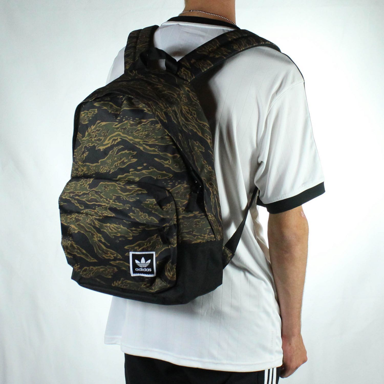 Details about Adidas AOP Backpack Rucksack for School Work Travel - Tiger  Camo 113d4c0200043