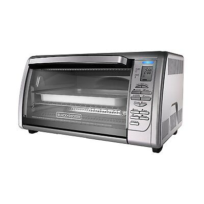 Sulky Decker Extra Large XL Stainless Steel Countertop Convection Toaster Oven
