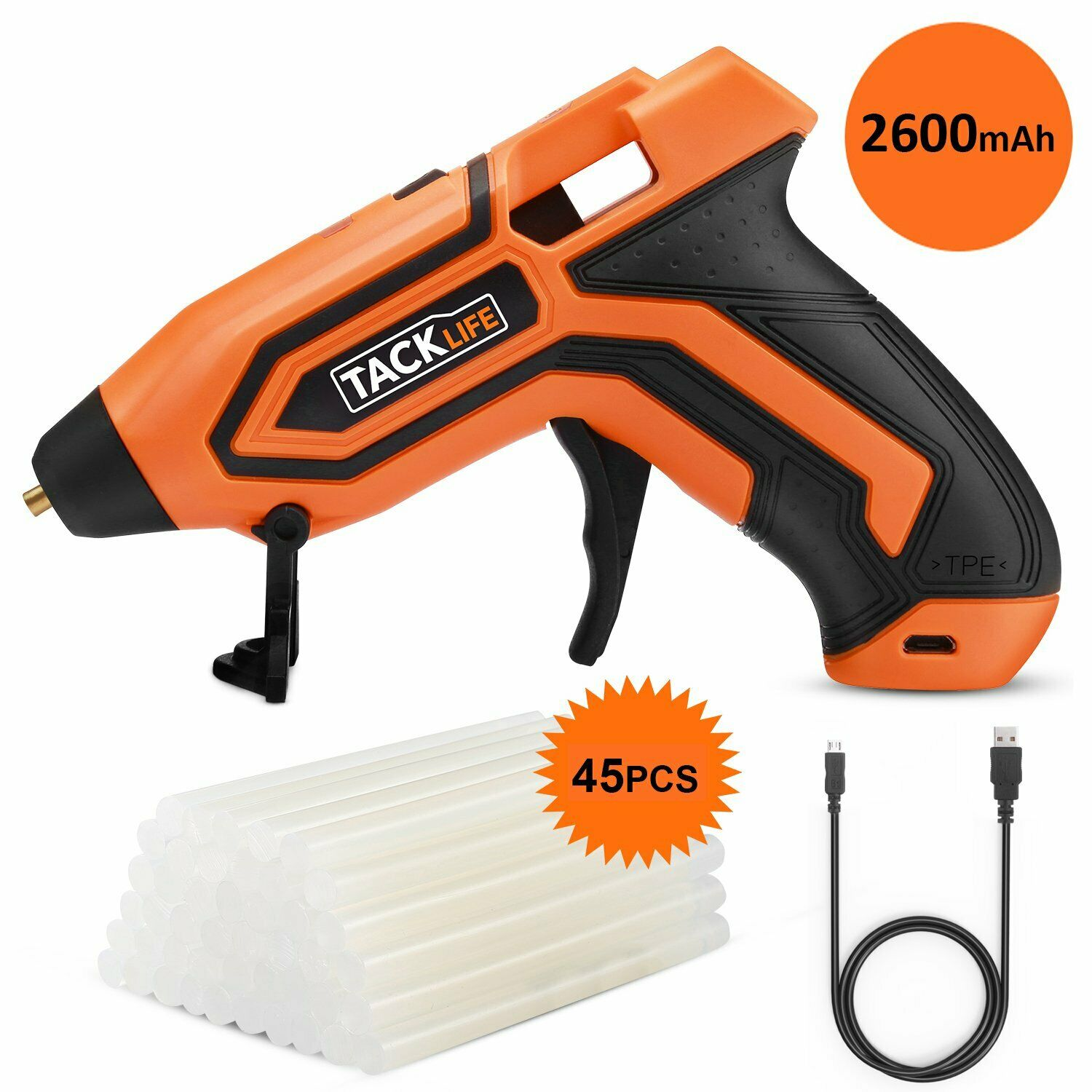 glue gun 3 6v mini cordless glue