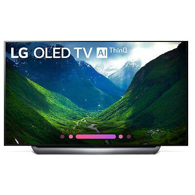Lg Oled65c8pua 65  Class C8 Oled 4K Hdr Ai Smart Tv  2018 Model    Open Box
