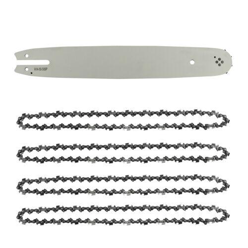 """4 x Sägekette Schwert passend für diverse Motorsägen 3//8/"""" 35cm 14/'/' 1,3mm 52TG"""