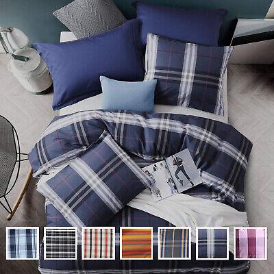 3 Pieces Cotton Duvet Cover Set Luxurious Comforter Cover Set Premium Quality Cotton Comforter Duvet Set