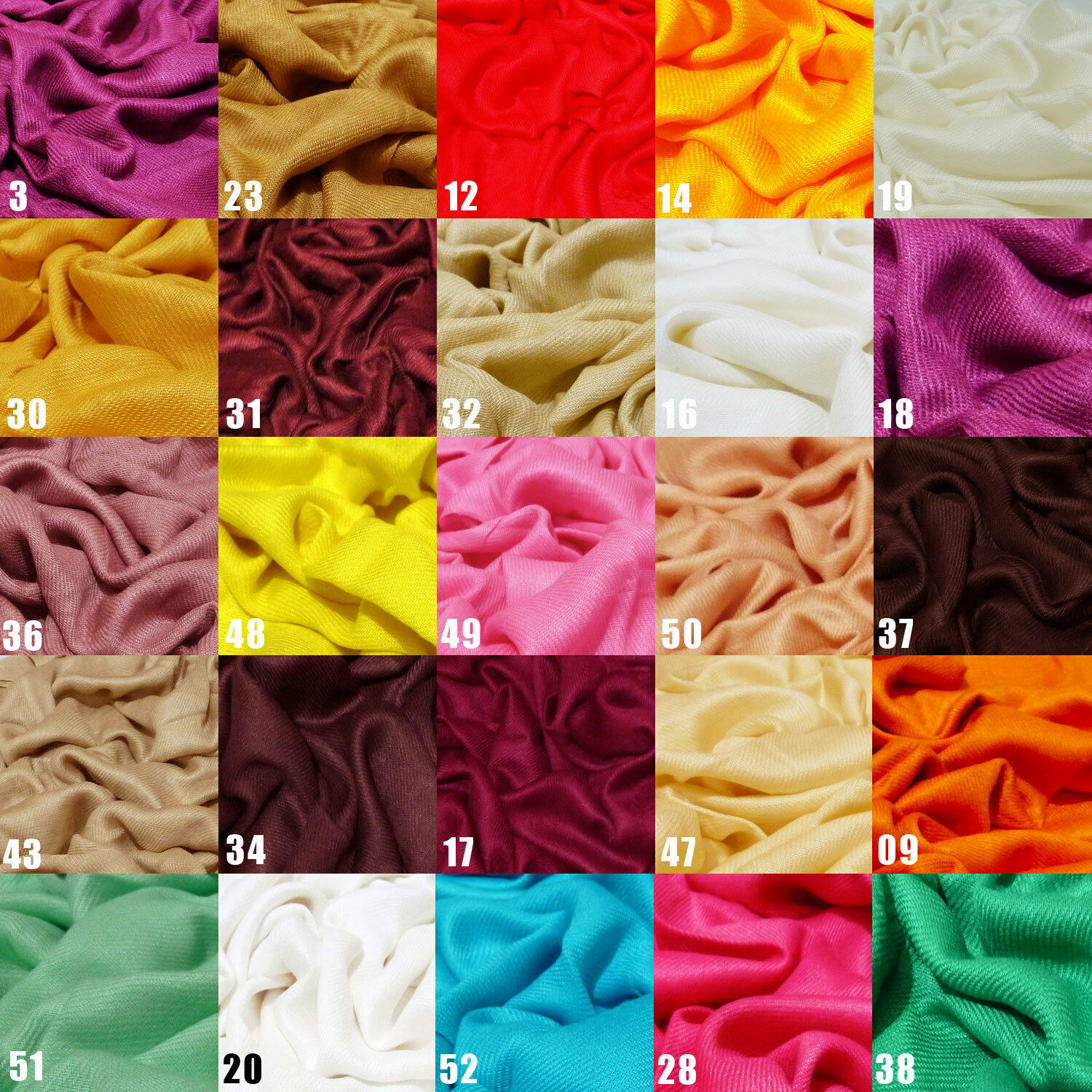c631af439 Details about 100% Viscose Plain Pashmina Scarf Stole Wrap Shawl High  Quality Many Colours