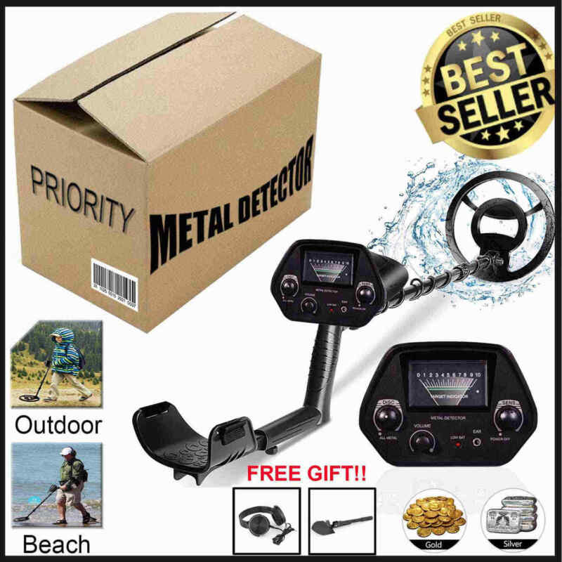 US Detector De Metales Oro y Plata GTX5030 Waterproof Handheld Metal Detector