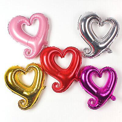 2 PCS Mylar Foil Balloons Love Letter Hen Party Wedding Engagement Decor Gift US ()