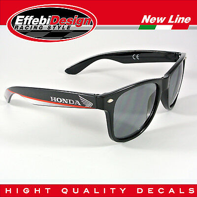 OCCHIALI DA SOLE SUNGLASSES HONDA HRC MOTO GP SBK CBR VTR VFR HIGHT QUALITY!