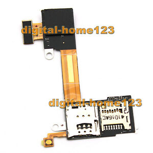 New Sim Card Holder Flex Cable Ribbon for Sony Xperia M2 D2302 D2303 D2305 D2306