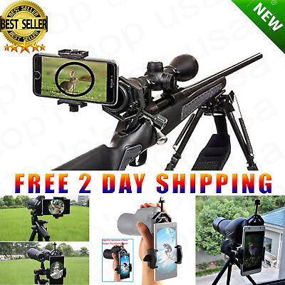 Universal Mobile Phone Holder Spotting Scope Cellphone Adapter Mount Rifle Scope