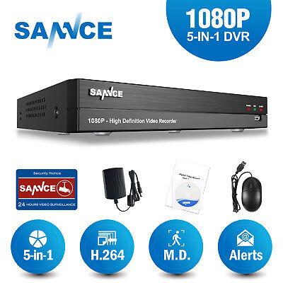 Sannce 16Ch  8Ch  4Ch 1080P Hdmi Dvr Digital Video Recorder For Home Cctv System