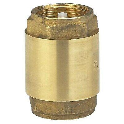 GARDENA Brass intermediate valve: Check valve Made Of solid Brass, 26.5 mm (3...