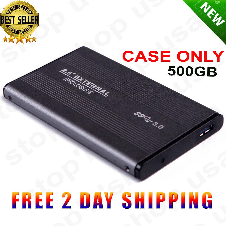 """HDE SuperSpeed USB 3.0 SATA External Aluminum 2.5"""" Hard Driv"""