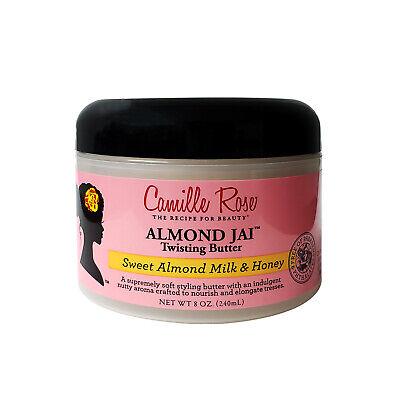 Camille Rose Almond JAI Twisting Butter Sweet Almond Milk & Honey 8 Oz.