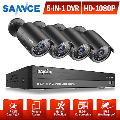 ANNKE 8CH TVI 1080N 5in1 DVR Outdoor 2000TVL CCTV Video Secu