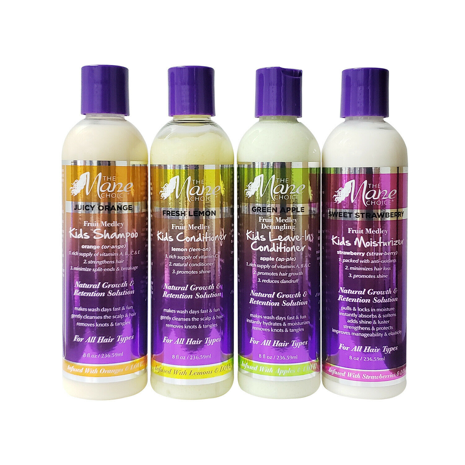 """The Mane Choice KIDS Deluxe 4 PCS Combo Set – """"FREE SHIPPING!!"""" Hair Care & Styling"""
