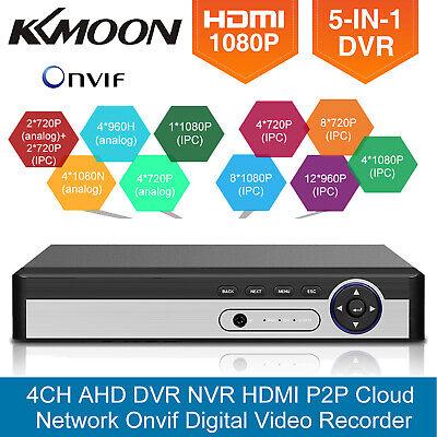 KKmoon 4CH/8CH/16CH 1080N Hybrid AHD DVR 5-in-1 Digital Vide