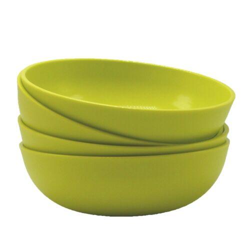 Tupperware Chic Dining Bowls Set of 4 Mini 1.5 Cups #6316 Margarita Green