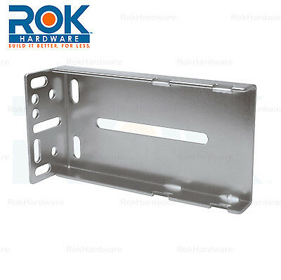 - Rok Hardware Face Frame Rear Mounting Bracket for Cabinet Drawer Slides Glides
