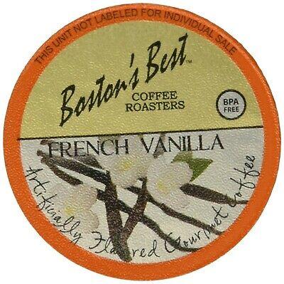 Boston's Best Single Serve K-Cup Coffee, French Vanilla, 80