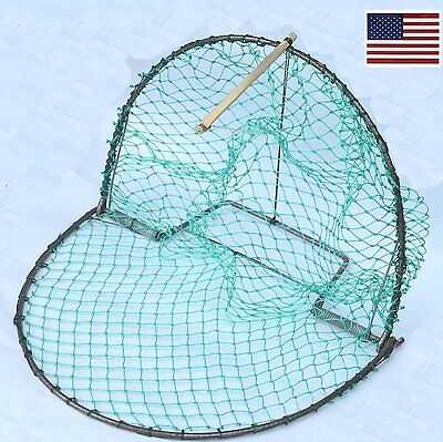 """US Effective Medium Bird Trap Sensitive Humane Trapping Hunting 16"""" Cage Net"""