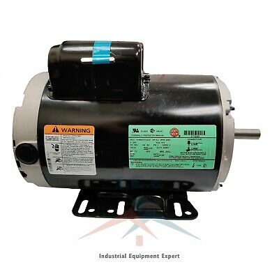 3 Hp 3450 Rpm Electric Motor Compressor Duty 56 Frame 1 Phase 58 Shaft
