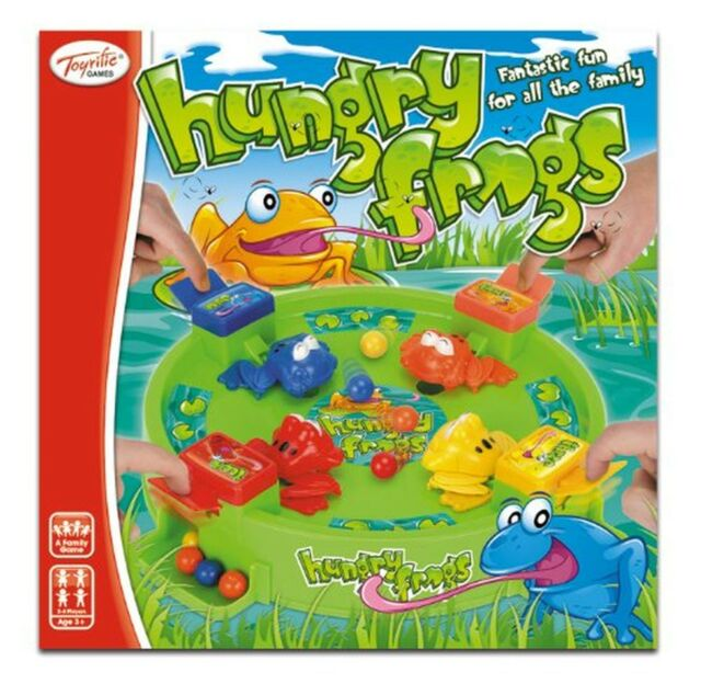 Toyrific Hungry Frog Game