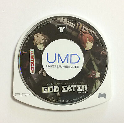 USED PSP Disc Only God Eater JAPAN Sony PlayStation Portable import Japanese