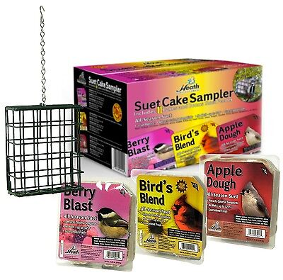 Heath Outdoor Products SCS-1 Suet Cake Assortment Pack, Case Of 11 182143