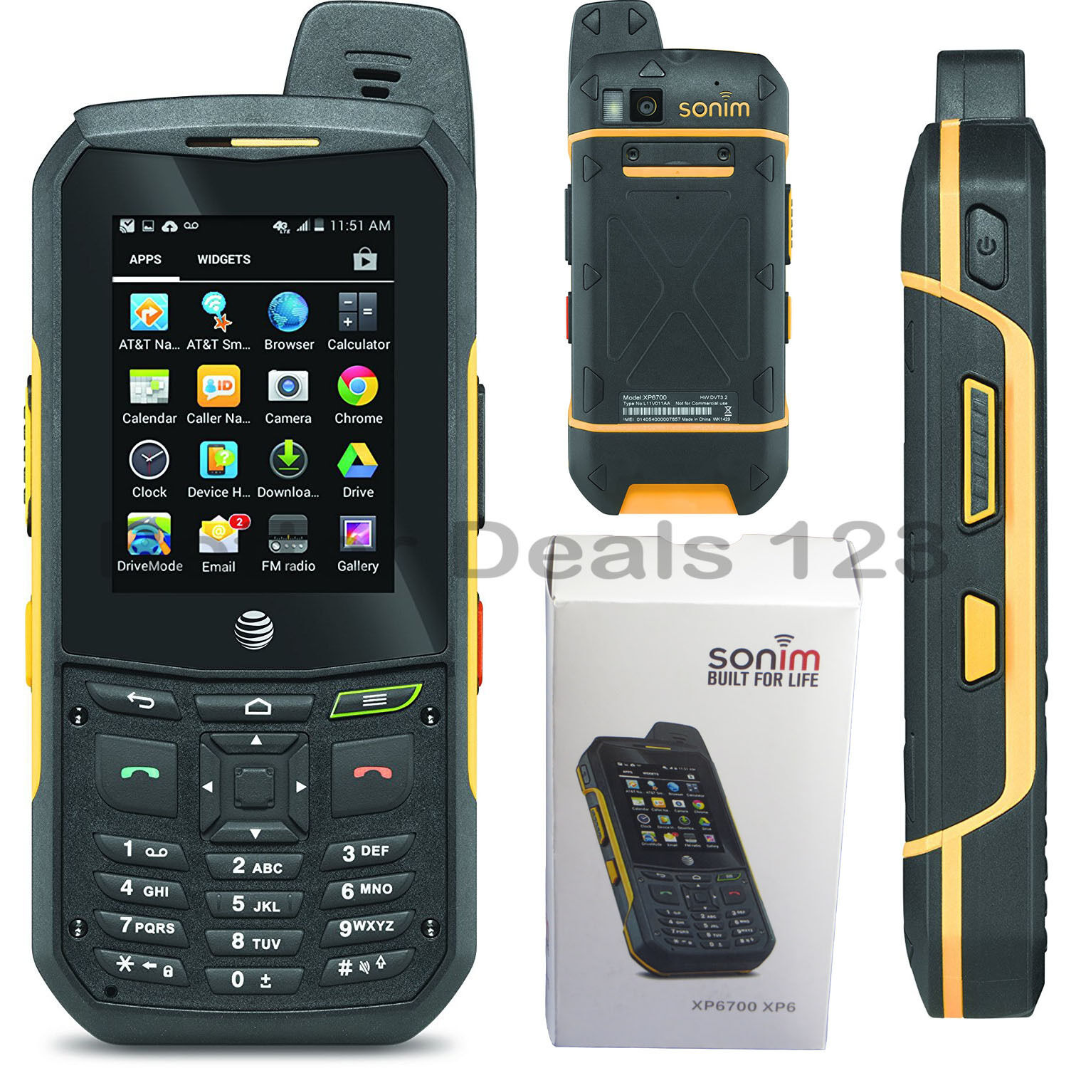 New Sonim Xp6 Att Gsm Unlocked Att Rugged Waterproof