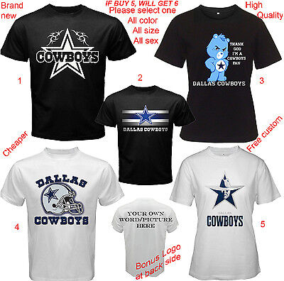 Dallas Cowboys Shirt All Size Adult S-5XL Youth Babies Toddler](Dallas Cowboys Baby Clothes)