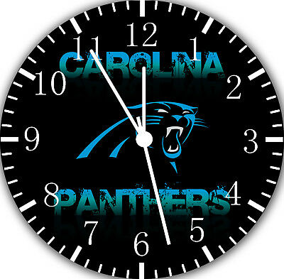 ameless ohne Grenzen Wanduhr für Geschenke oder Wohndeko (Carolina Panthers Geschenke)