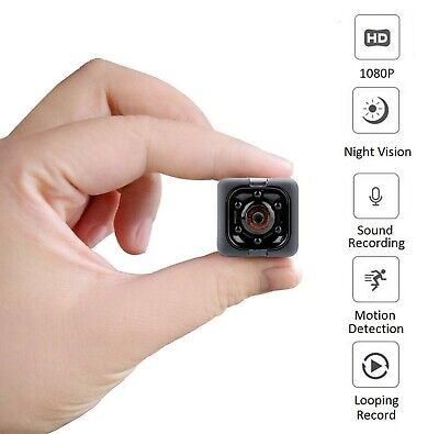 Hidden Spy Cameras, 1080P Mini Spy Camera with Audio and Video, Night Vision ...