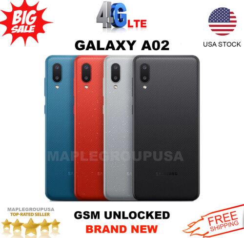 Samsung Galaxy A02 - 64GB (GSM Unlocked) 3GB RAM Simple Mob, T-Mobile, Metro PCS