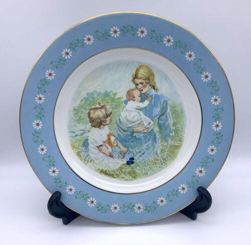 "1974 Pontesa Ironstone Avon Plate - Tenderness Commemorative Plate - 9.25"" Spain"