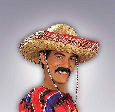 Pancho Villa Mustache (Pancho Villa Moustache Mexican Cinco de Mayo Fake Mustache 100% Human)