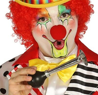 Erwachsene Kinder Lustige Neuheit Clown Hupe Zirkus Karneval Kostüm (Kinder Lustig Verkleiden Kostüme)