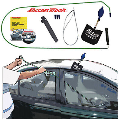 Access Tools Fast Access Car Opening Long Reach Tool Kit Set New Free Shipping