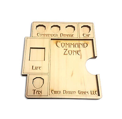 Commander Spindown Command Zone EDH MTG Magic Game Movement Card Dice Tray
