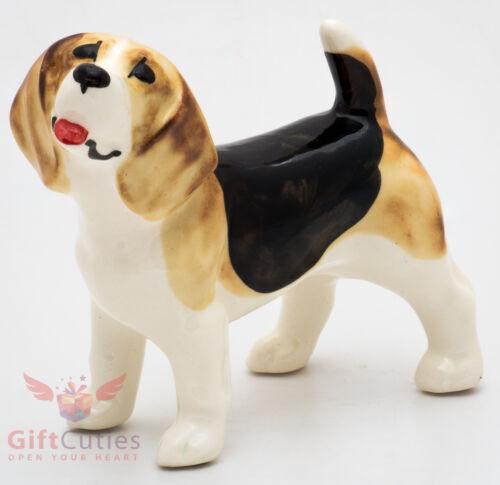 Porcelain Figurine of the Beagle dog