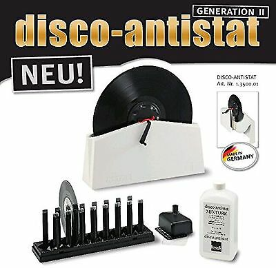 Knosti Disco Antistat Vinyl Record Cleaning Machine Cleaner Kit ( Generation 2 )
