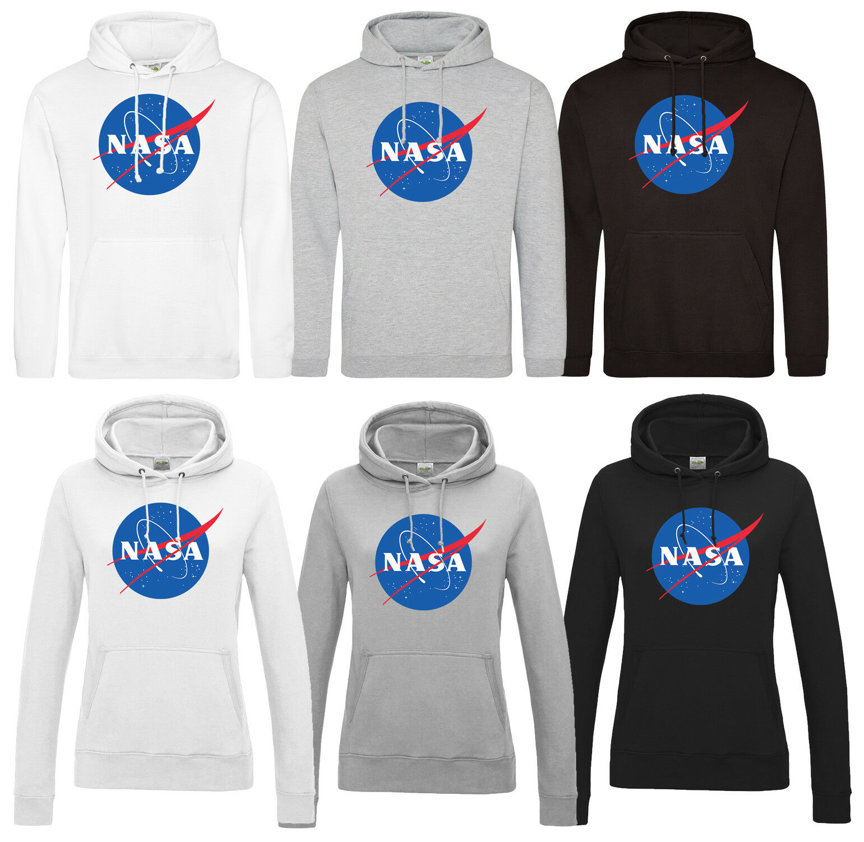 NASA Hoodie Kapuzenshirt Pullover Apollo Raumfahrt Weltall Space Mond Meatball