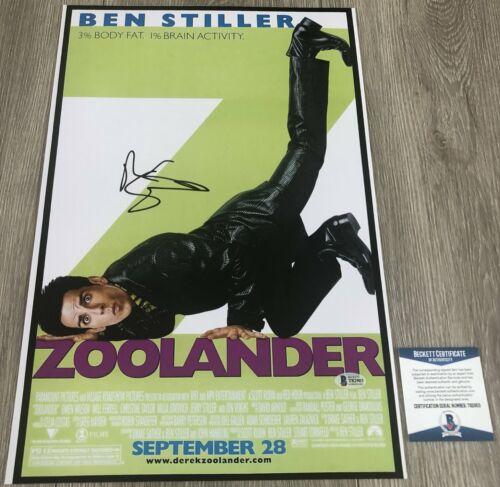 BEN STILLER SIGNED ZOOLANDER 12x18 POSTER PHOTO w/EXACT PROOF & BECKETT BAS COA