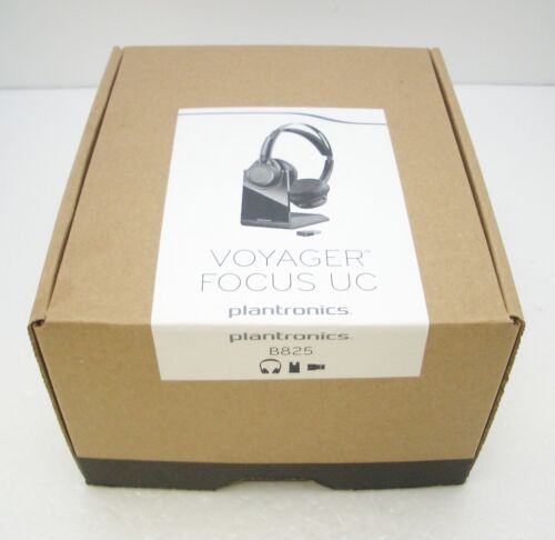 Plantronics Voyager Focus UC B825 Stereo Bluetooth Headset - Retail Packaging