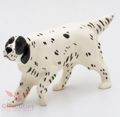 Porcelain Figurine of the English Setter dog
