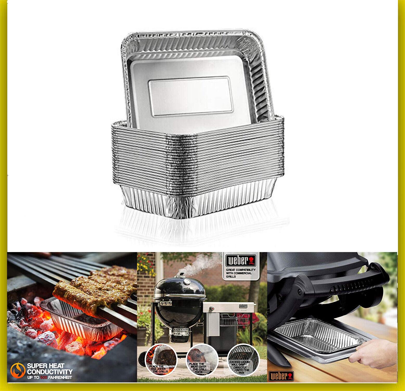 bbq grill drip pan aluminum foil grease